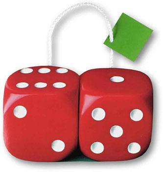 Casino Dice Bags