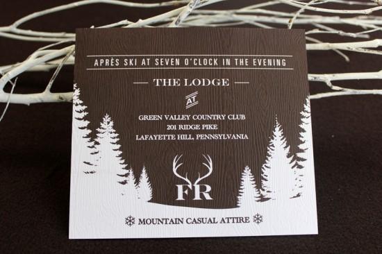 Ski Invitation