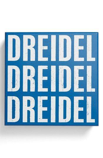 Dreidel Sign