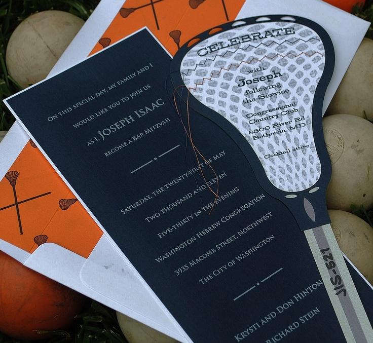 lacrosse invitation