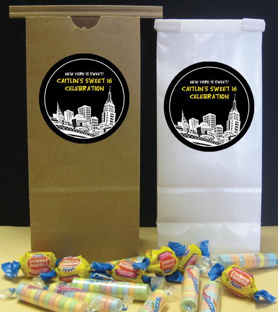 New York treat bags