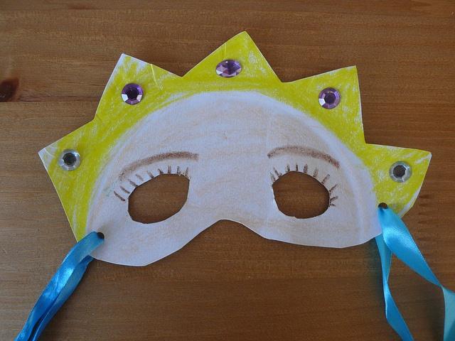 Purim Plate Masks
