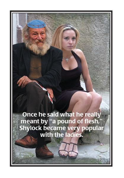 Shylock card