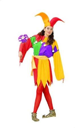 Unisex Court Jester Adult Costume