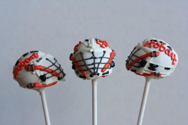 lacrosse cake pops