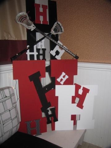 lacrosse decor