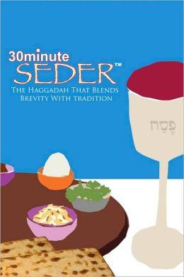 30-minute seder haggadah