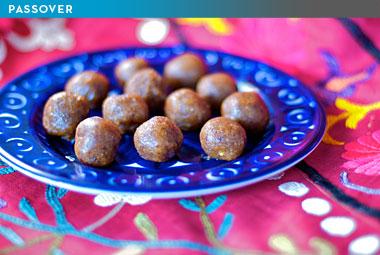 ... serve renowned Jewish cook Joan Nathan's Moroccan Charoset Balls